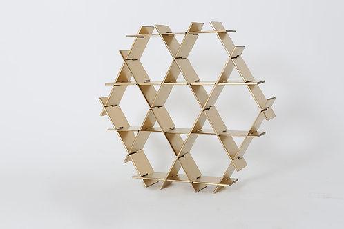 Large Cardboard Ruche - Gold finish