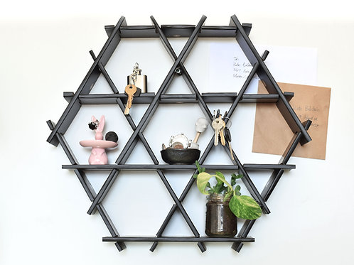 Entryway floating shelf- Small cardboard Ruche