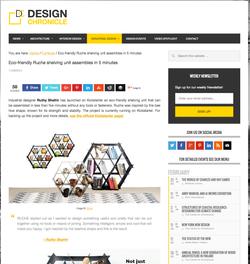 Ruche shelving design chronicle
