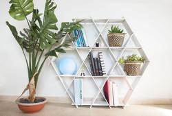 free standing shelf