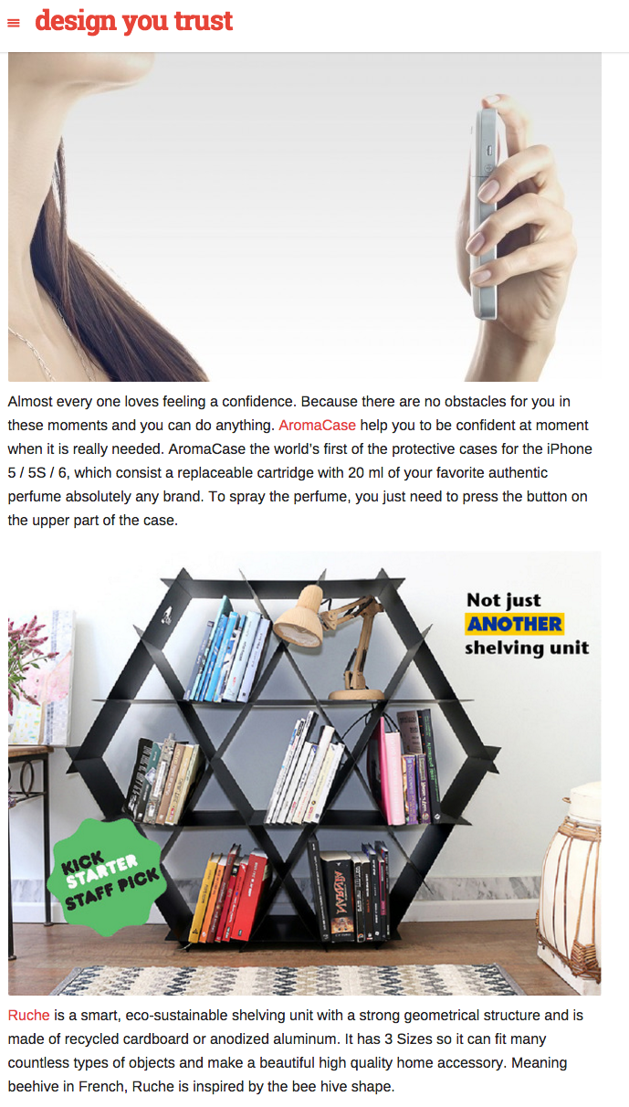 Ruche shelving designyoutrust