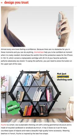 Ruche shelving designyoutrust