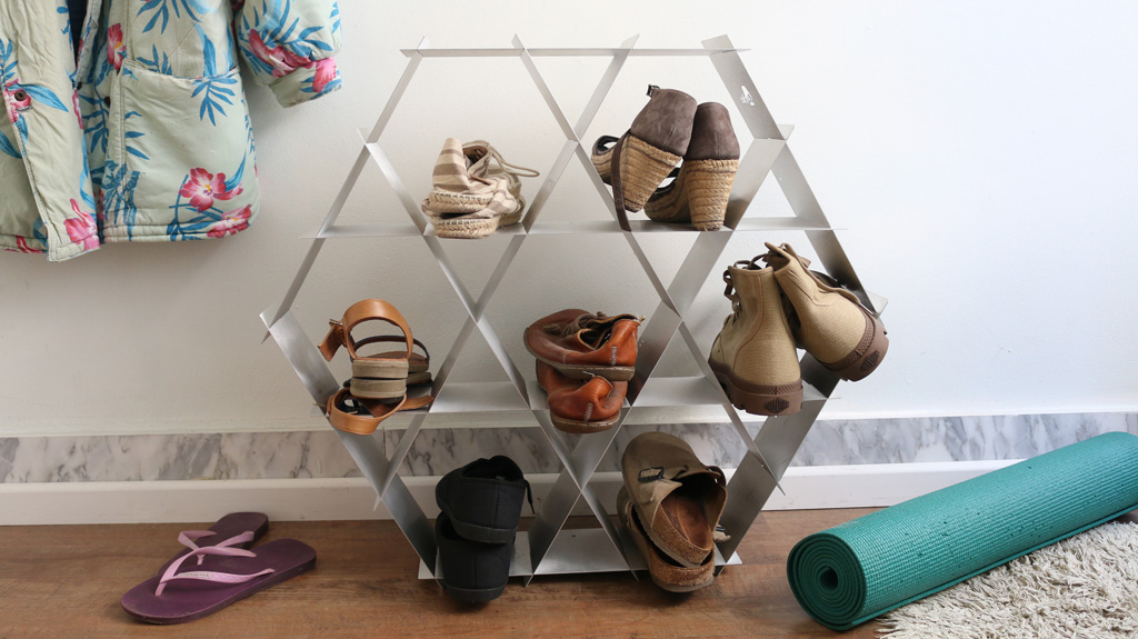 shoe storage shoe rack