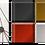 Thumbnail: Small Aluminum Ruche - Grey white