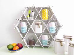 coffe rack shelves