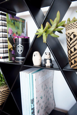cardbaord shelf