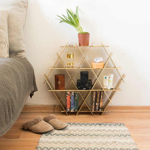 Medium cardboard Ruche - bedside table
