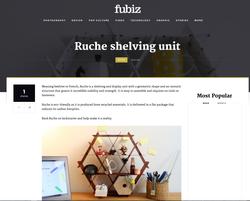 Ruche shelving fubiz