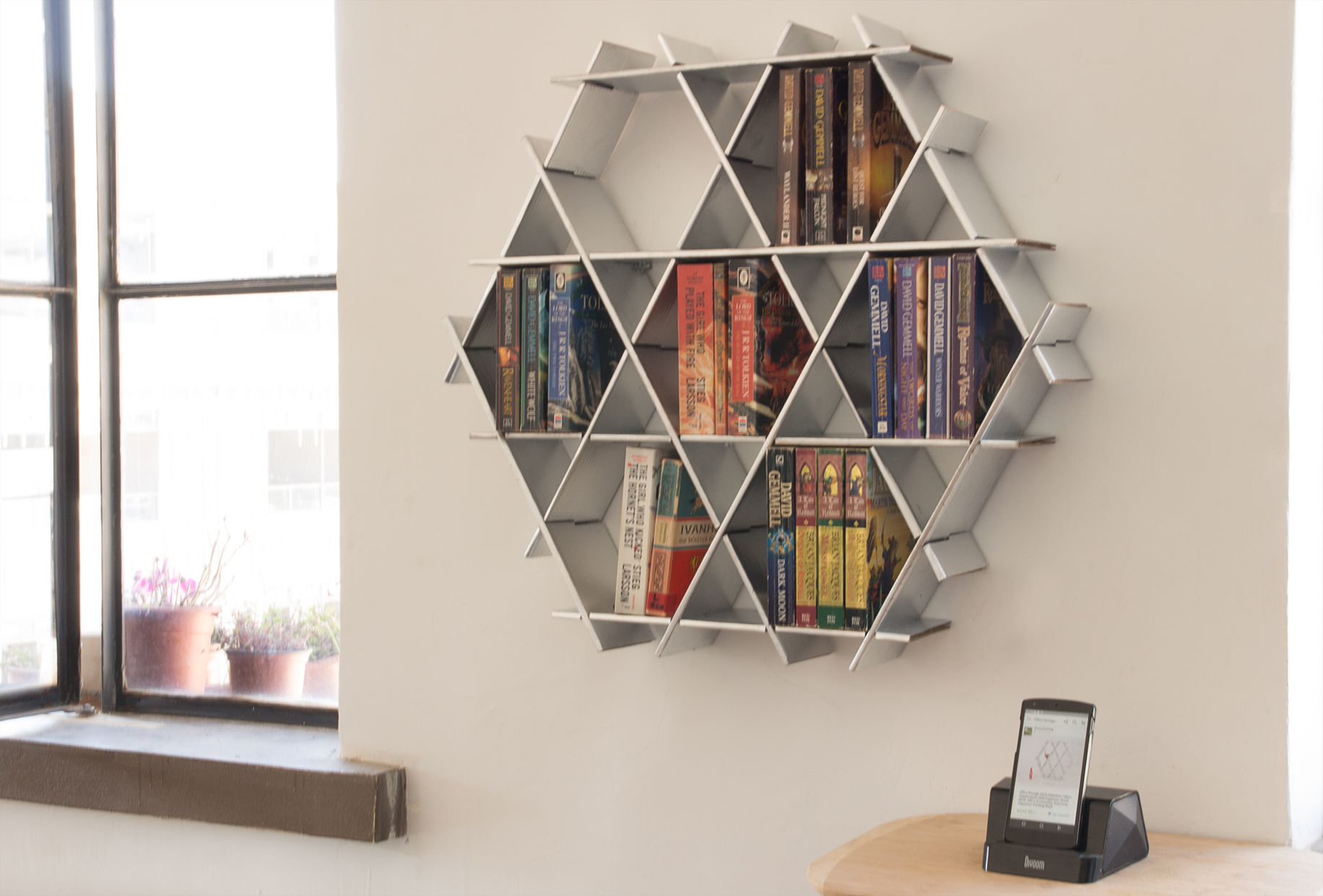 bookcase floating shelves