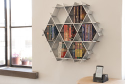 bookcase floating shelves
