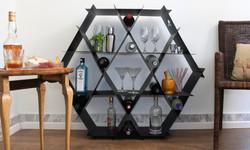 home bar wine rack