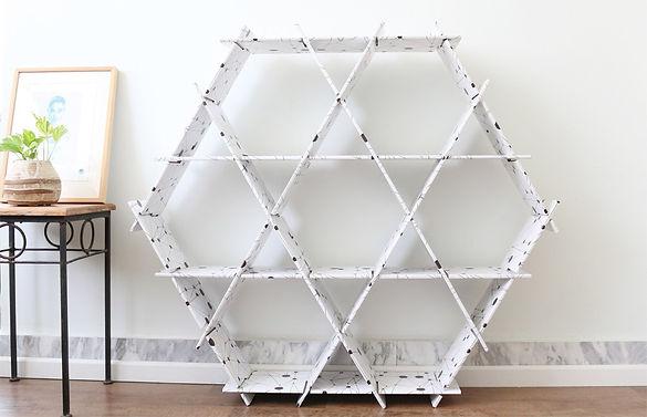 large recycled cardboard shelves furniture