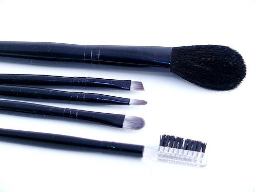 Set de 5 pinceaux de maquillage
