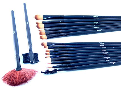 Set de 21 pinceaux de maquillage tirigo