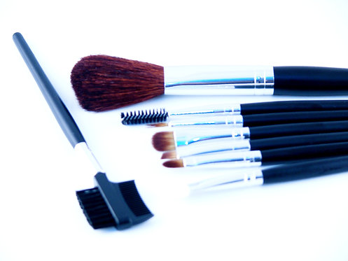 Set de 8 pinceaux de maquillage