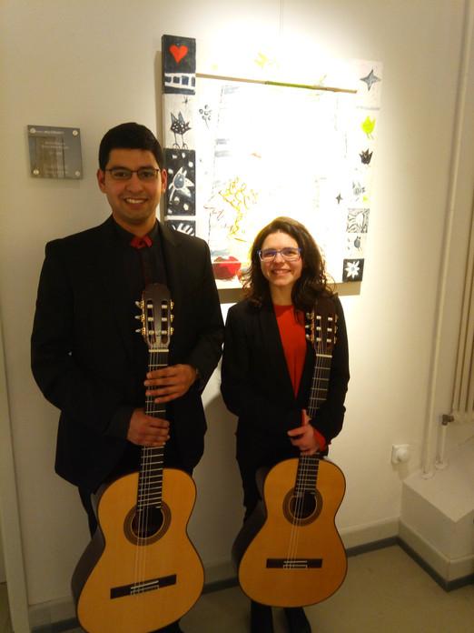 Unsere Gitarrentalente am Bad Sodener Tag der Künste!