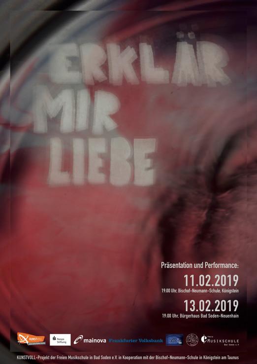 """EINLADUNG zur Performance """"ERKLÄR MIR LIEBE"""""""