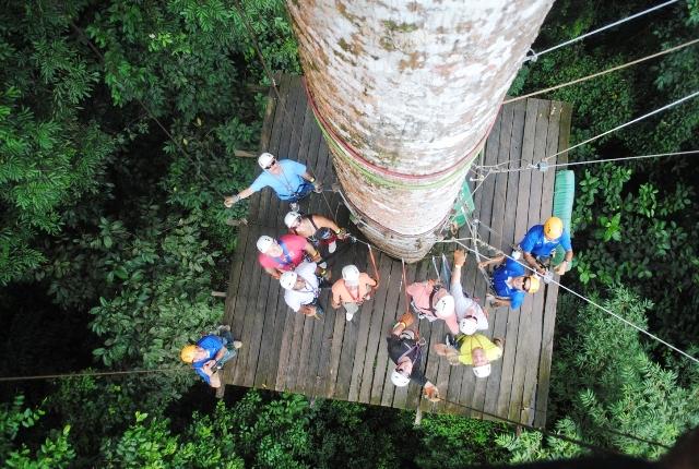 Arenal-Volcano-canopy-zip-line-tour