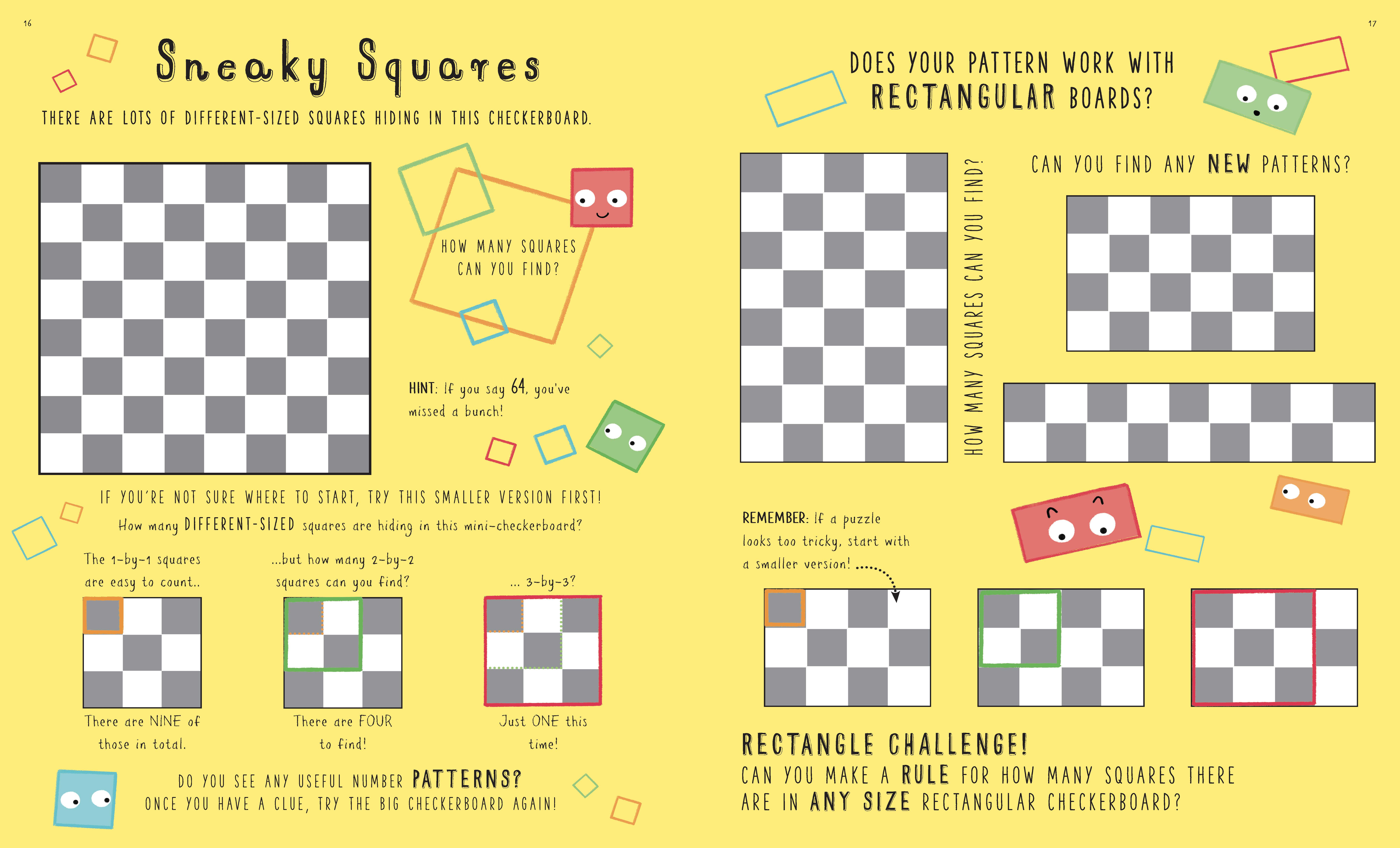 Sneaky squares