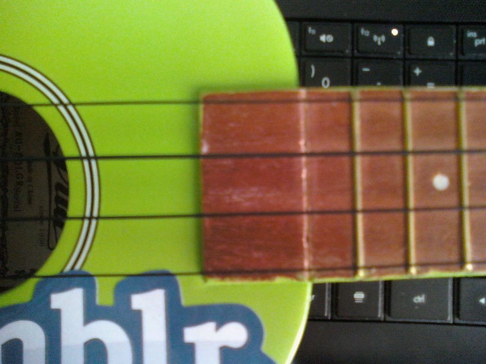 So much for playing with a capo on the 9th fret