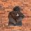 Thumbnail: SIBBZ Ladies Black Puffer Coat