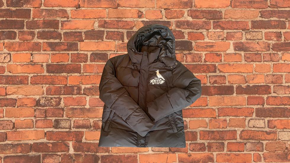 SIBBZ Ladies Black Puffer Coat
