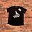 Thumbnail: SIBBZ Black Splatter Shirt Unisex