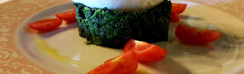 tortino di spinaci