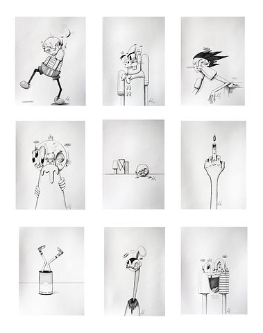 9 drawings