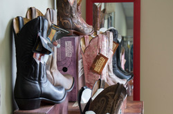 Boots and shoes cleaning products