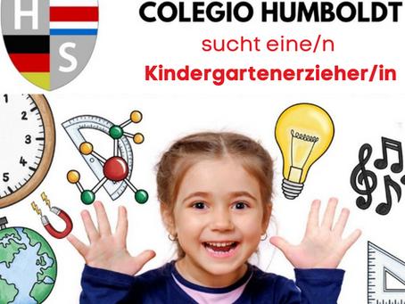 Die Humboldt - Schule sucht eine/n Kindergartenerzieher/in