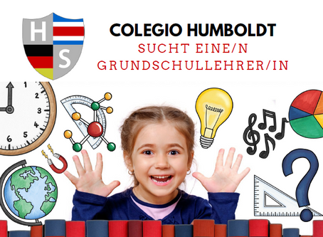 Humboldt Schule sucht eine/n neue/n Grundschullehrer/in