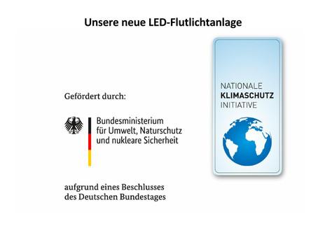 UNSER NEUES LED-FLUTLICHT