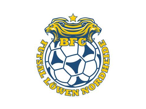 BFC FUTSAL LÖWEN NORDHEIDE  - Erster Sieg in der Regionalliga-Saison 2021/2022!