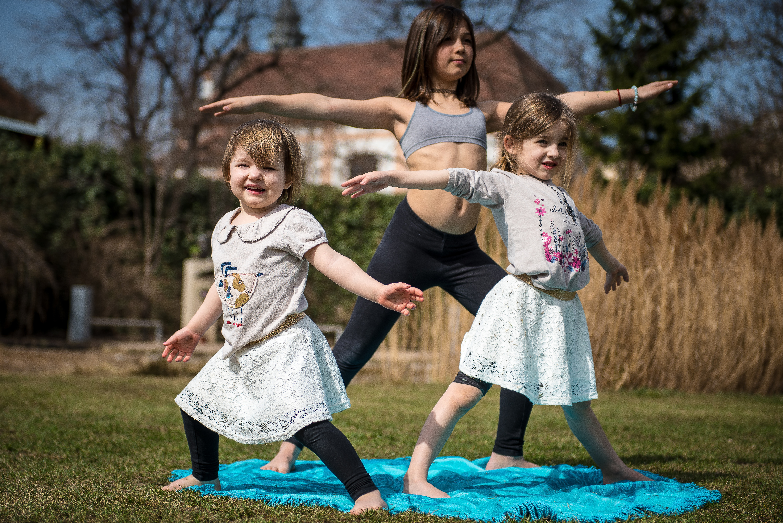 Dětská jóga 5-8 let   Katka