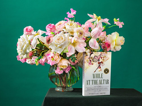 While at the Altar Paperback Book