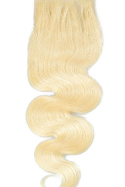 Blonde 4 x 4 Body Wave Closures