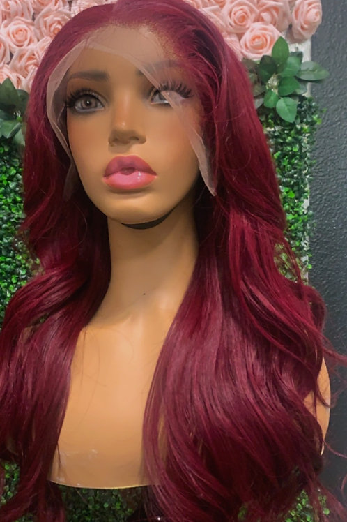 99J LACE FRONTAL STRAIGHT WIG
