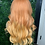 Thumbnail: Burnt Orange Ombre Lace Frontal wig