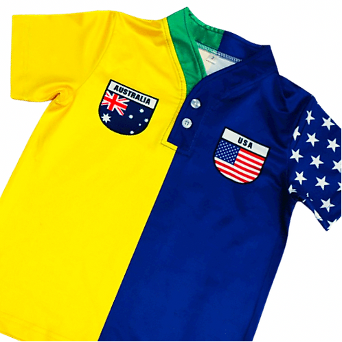 50:50 Shield Australia +USA