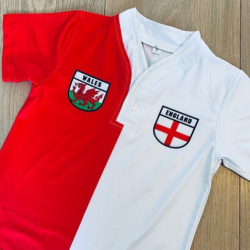 50:50 Shield Jersey Wales+ England