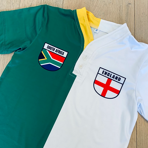 50:50 Shield Jersey South Africa + England