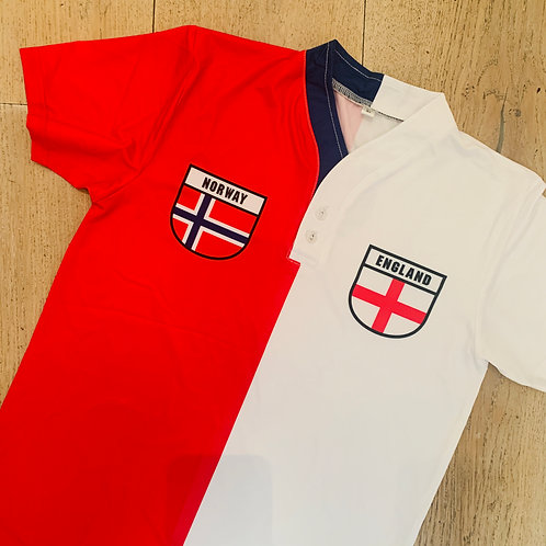 50:50 Shield Jersey Norway + England