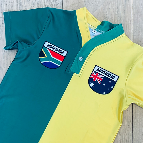 50:50 Shield Jersey South Africa + Australia