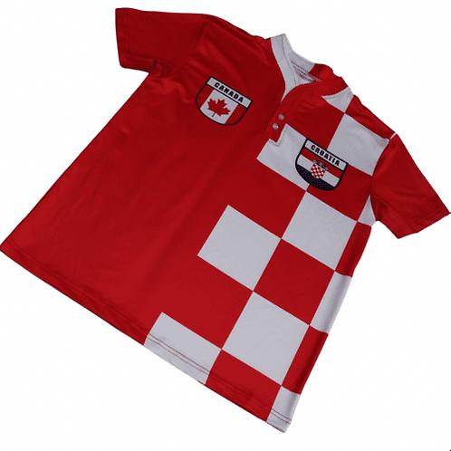 50:50 Shield Jersey Croatia+ Canada
