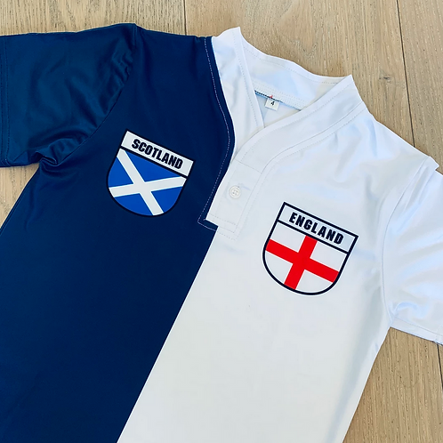 50:50 Shield Jersey Scotland + England