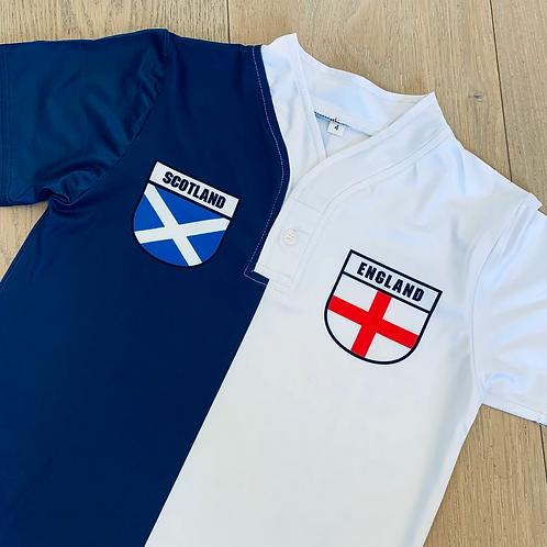 50:50 Shield Jersey Scotland + England
