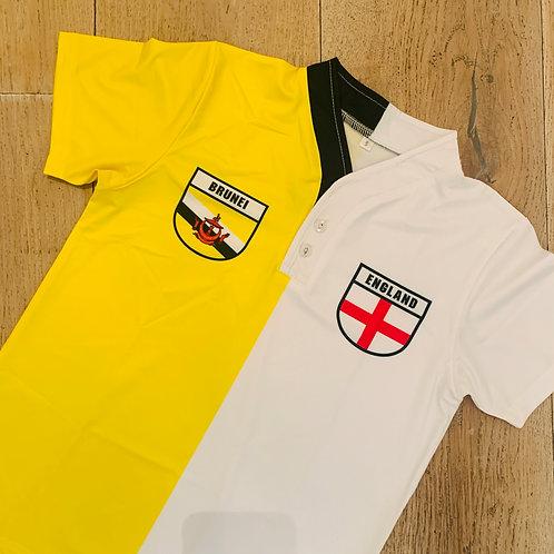 50:50 Shield Jersey Brunei + England