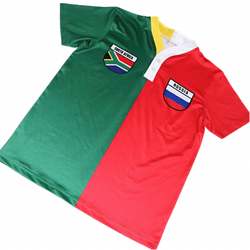 50:50 Shield Jersey South Africa +Russia