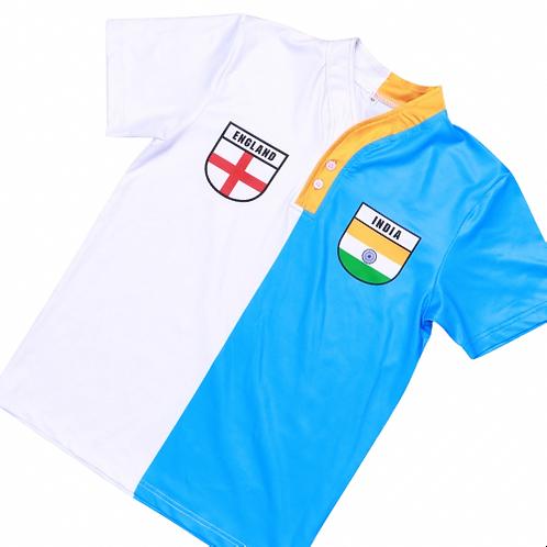 50:50 Shield Jersey India + England